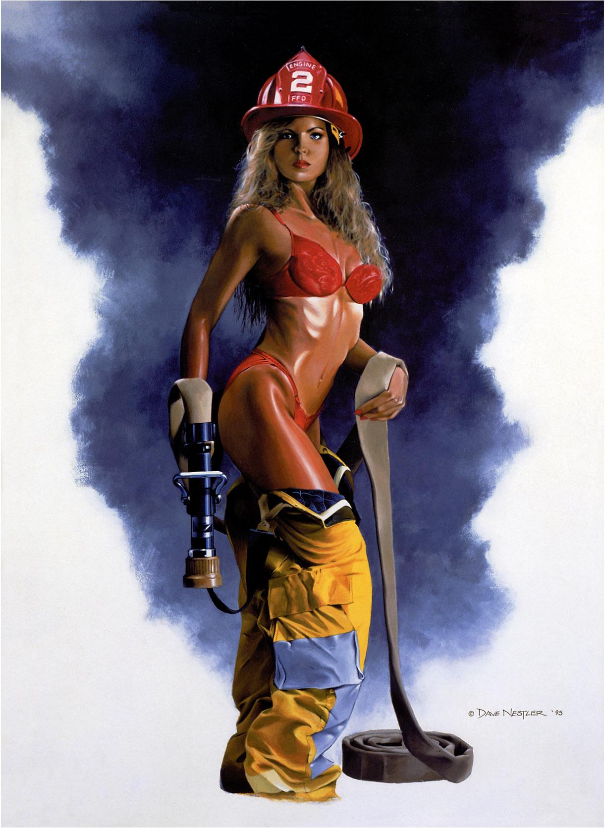 Секс с пожарникам 9 фотография